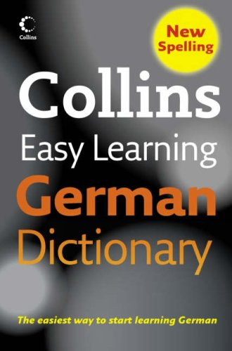 Collins Easy Learning German Dictionary (English and German Edition) PDF