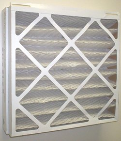 Image of 14-1/2x27x5 (14.2x26.2x5) MERV 8 Trane Replacement Filter (2 Pack) (B000MEA4DM)