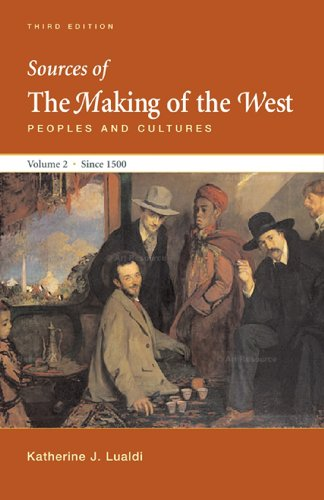 Sources of Making of the West with Concise Correlation...