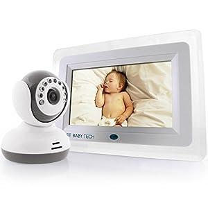 SafeBabyTech 7-Inch LCD Baby Monitor with Wireless Digital Camera by SafeBabyTech