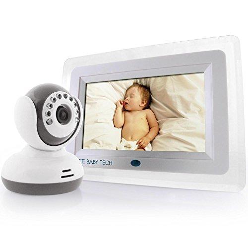 SafeBabyTech 7-Inch LCD Baby Monitor with Wireless Digital Camera