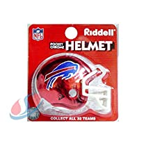 Buffalo Bills Chrome Pocket Pro NFL Helmet