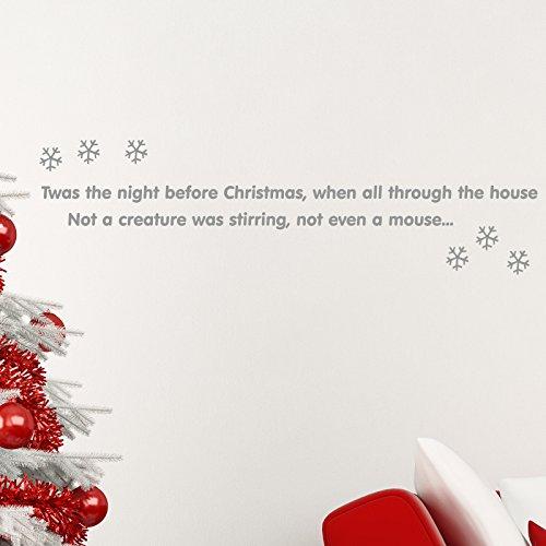 twas-the-night-before-christmas-wall-sticker-decal-xmas-art-decoration-snowflake