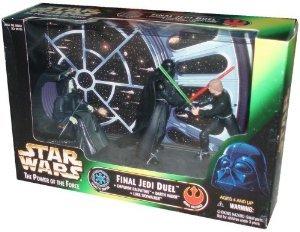 Star Wars ( Star Wars ) Final Jedi ( Jedi ) Duel Cinema Scene - Star Wars ( Star Wars ) Action Figure 3-Pack ( parallel imports )