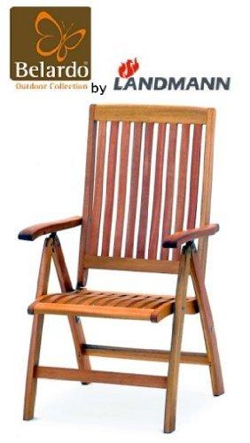 Belardo by Landmann Hochlehner Minoa Eukalyptus Gartenstuhl Stuhl Gartenmöbel Stuhl Holz jetzt kaufen