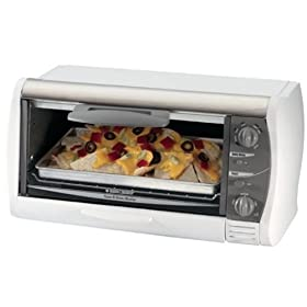 Black & Decker 800W TRO1000C 9 Liter Toaster Oven (220V Volts) NOT FOR USA USE (European Cord)
