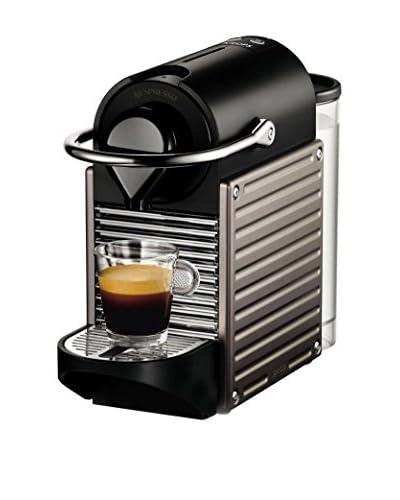 Krups Cafetera Nespresso Pixie Electric Gris + 20 euros en café