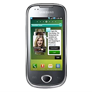 Samsung i5800 Galaxy 3 Unlocked Touchscreen Phone with Android OS, Wi-Fi, GPS, 3.1 MP Camera+Video--International Version with Warranty (Black)
