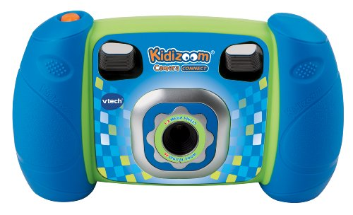 VTech Kidizoom Camera Connect, Blue (Discontinued by manufacturer) (Kids Cameras Digital compare prices)