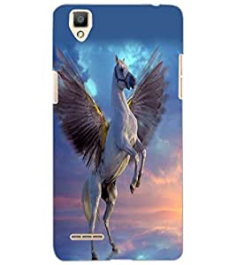 OPPO F1 FLYING HORSE Back Cover by PRINTSWAG