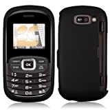 41F5NpFUAcL. SL160  NEW BLACK RUBBERIZED HARD CASE COVER FOR VERIZON LG OCTANE VN530 CELL PHONE