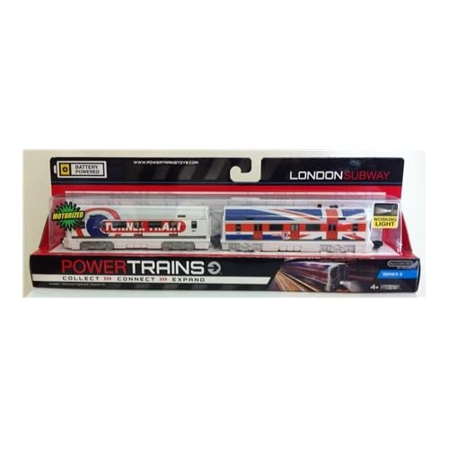 Power Train Motorized Train Engine Set Wave 2 - London Subway