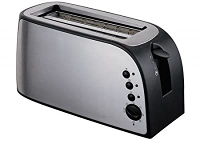 Frigidaire FD3122 4-Slice Stainless Steel Wide Slot Toaster, 220-volt from Butterflyindia
