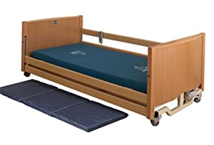 Fully Profiling Bradshaw Low Height Electric Adjustable Homecare Hospital Bed