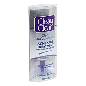 Clean & Clear Clear Advantage Acne Spot Treatment, 0.75-Ounce Tube