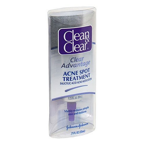 Clean & Clear Clear Advantage Acne Spot Treatment, 0.75-Ounce Tube
