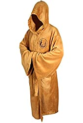 Star Wars Jedi Hooded Bath Unisex Robe - Size Large