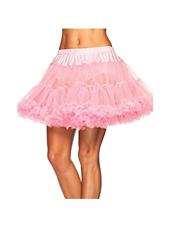 Amazon.com: Plus Size Women's Layered Tulle Petticoat - Pink: Clothing