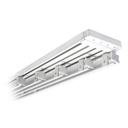 victoria m rail pour panneau japonais en aluminium 272cm 5 voies pour 5 panneaux blanc. Black Bedroom Furniture Sets. Home Design Ideas
