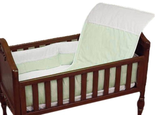 Baby Doll Bedding Kingdom Crib Bedding Set, Sage