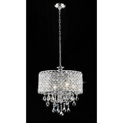 Whse of Tiffany RL5633 Deluxe Crystal Chandelier