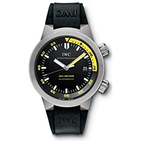 IWC Aquatimer Automatic 2000 Titanium Black Mens Watch IW353804