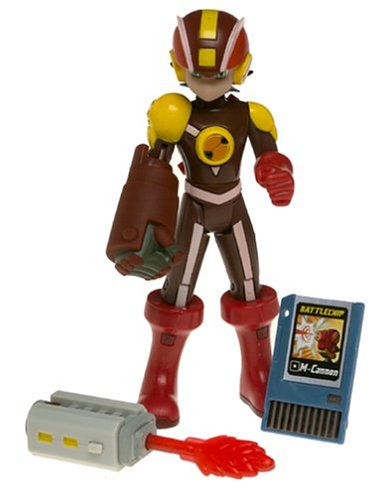 Buy Low Price Mattel Mega Man NT Warrior HeatGuts Style Megaman Figure (B0002D0FMI)