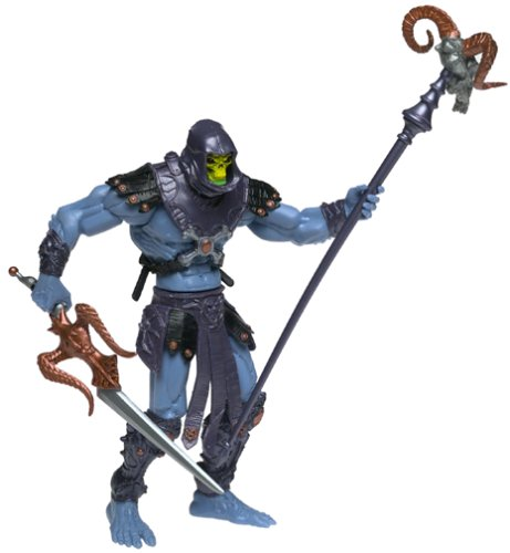 Buy Low Price Mattel MASTERS OF THE UNIVERSE SKELETOR (BLUE) ACTION FIGURE (B00005S0K6)