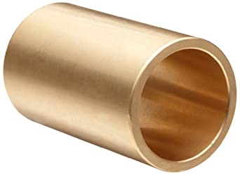 Boston Gear Bear-N-Bronz Plain Cylindrical Sleeve Bearing, SAE 660 Cast Bronze, Inch