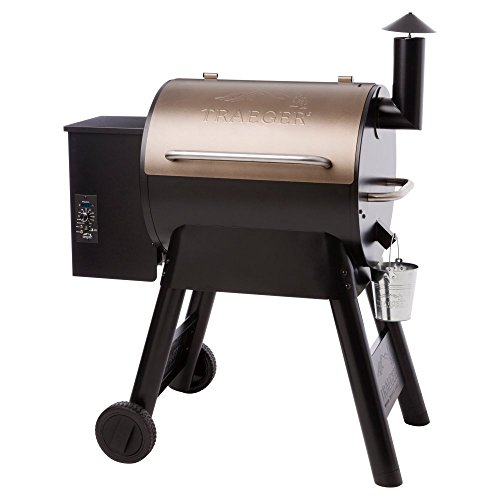 Traeger Pro Series 22 Wood Pellet Grill, Bronze (Traeger Smoker Pellets compare prices)
