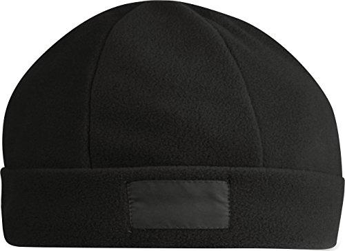 cappello cappellino invernale cuffia pile taglia unica 6189 nero mis 46 - 50