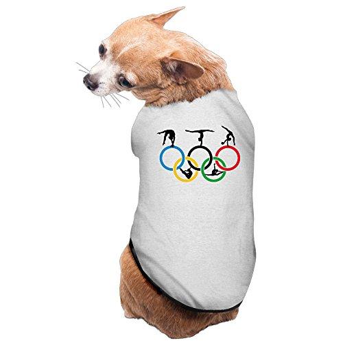 Aip-Yep Casual Gymnastics And Circle Dog Tank Gray Size S
