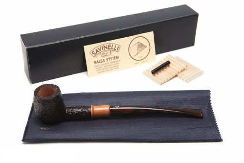 Savinelli Qandale Rustic 106 Tobacco Pipe