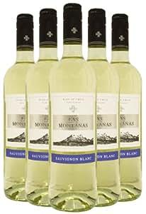 Las Montanas Sauvignon Blanc - Case - 6 x 750ml