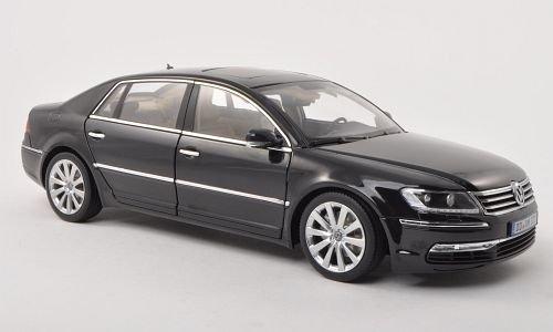 VW-Phaeton-met-dkl-grau-Modellauto-Fertigmodell-Welly-118
