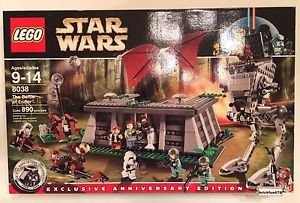 [Lego Star Wars 8038 The Battle of Endor New In Factory Sealed Box Rare] (Star Wars Dog Costumes Ewok)