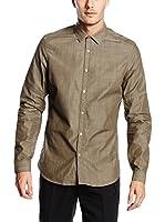Belstaff Camisa Hombre Stanbury (Marrón Claro)
