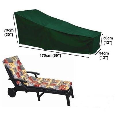 Deluxe Polyester Schutzhülle Schutz-Plane für Gartenliege Liegestuhl 175cm