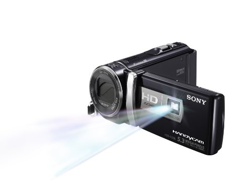 Sony HDR-PJ200 High Definition Handycam 5.3 MP Camcorder with 25x Optical Zoom and Built-in Projector (Black) (2012 Model)