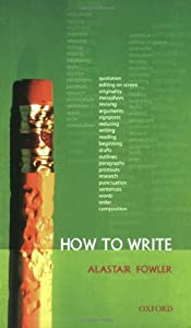 "Cover of ""How to Write"""