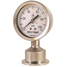 REOTEMP SG Series Sanitary Pressure Gauge