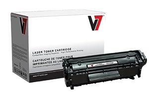 V7 V712XP Replacement High Yield Toner Cartridge for HP Q2612A(J) Toner