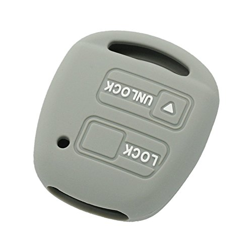 fassport-silicone-cover-skin-jacket-fit-for-toyota-lexus-2-button-remote-key-case-cv2421-grey