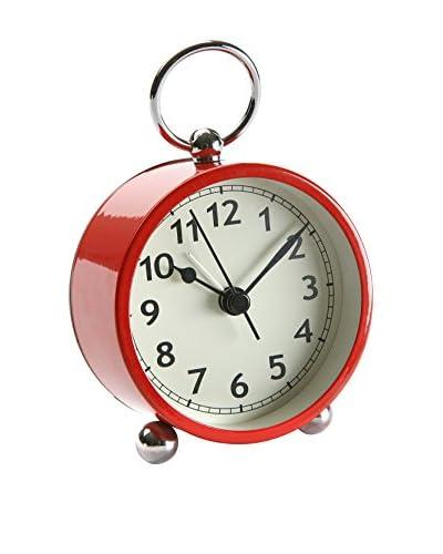 Zings Reloj De Mesa Reveil Matin Rojo