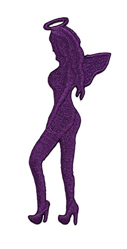 Application DSX Purple Angel Patch