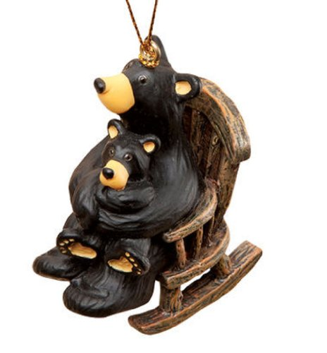 Big Sky Carvers Cuddle Time Ornament (Big Bear Chair compare prices)