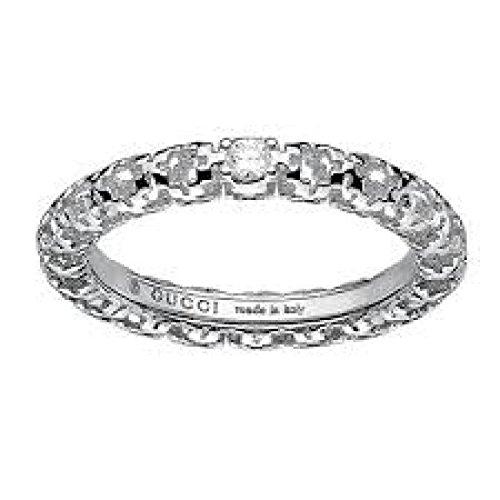 Anello Gucci DIAMANTISSIMA YBC35710900113.0_0 Oro Bianco Diamante taglia 13.0