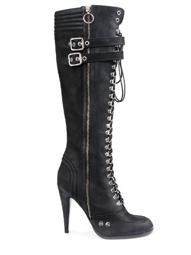 Roberto Cavalli Boots (F-02-St-23641) – 4.5(UK) / 37(IT) / 37(EU) – black