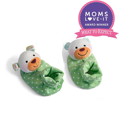Infantino Foot Rattles (Colors/Styles Vary) front-204584