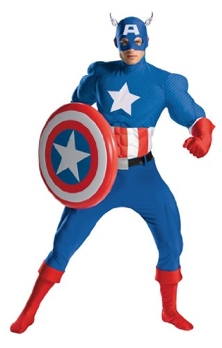 Costumes For All Occasions DG50220D Captain America Rental